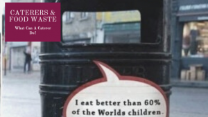 Caterers & food Waste Banner