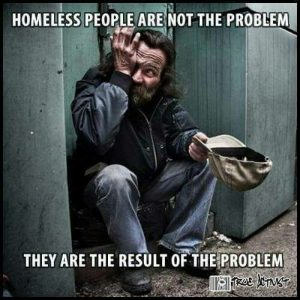 Homeless people and how a caterer can help
