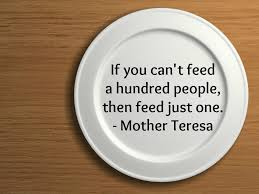 mother teresa quotation about hunger