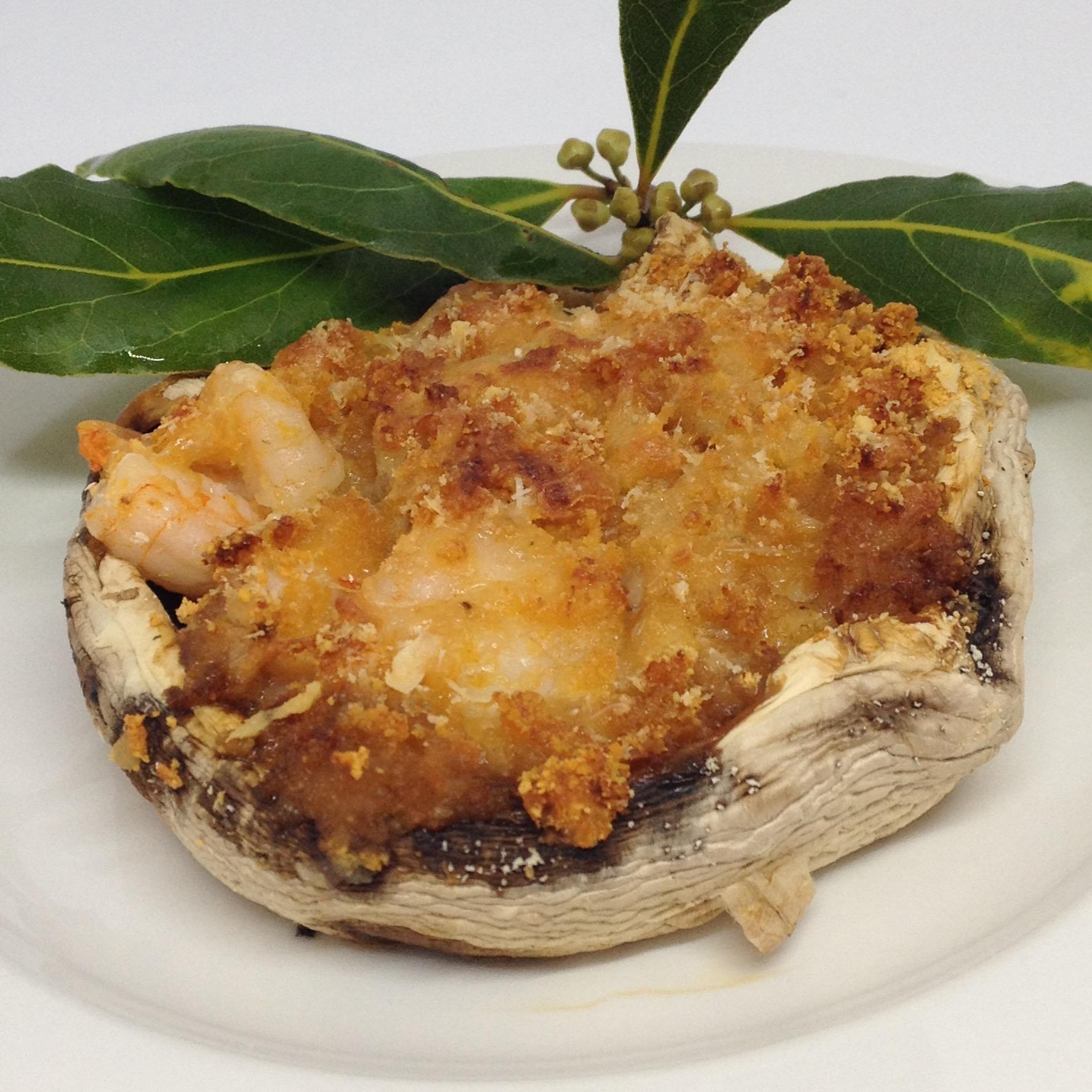 Stuffed Seafood Mushrooms