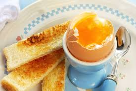 Eggs. Boiled Egg and Soldiers.