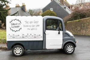 UK's first packaging-free shop on wheels
