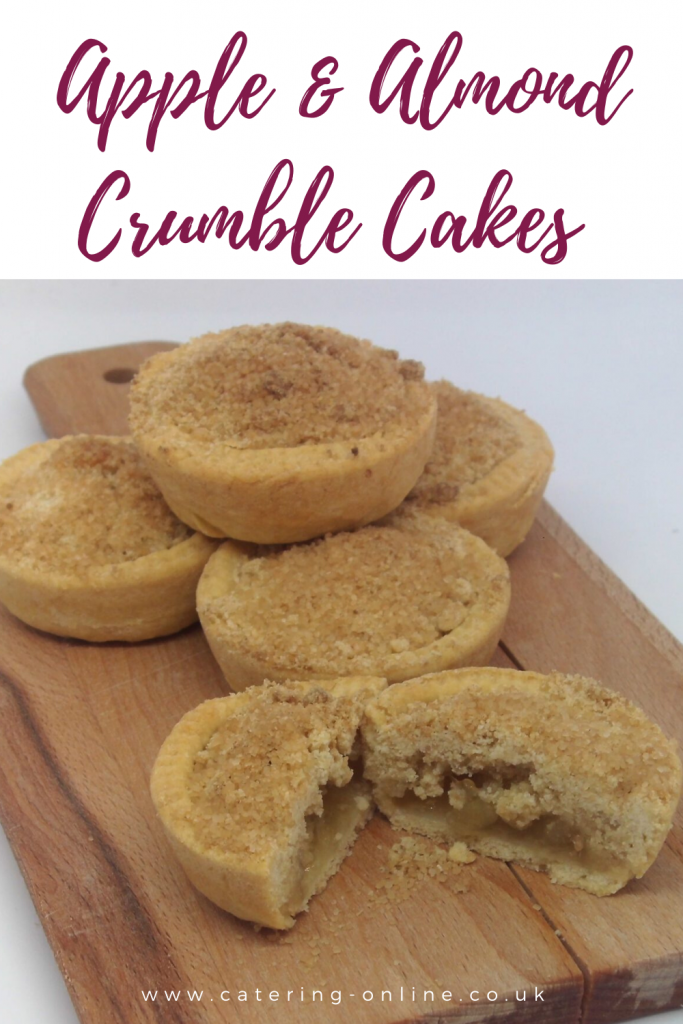 UPLOADING 1 / 1 – Apple & Almond Crumble Cakes Pin.png ATTACHMENT DETAILS Apple & Almond Crumble Cakes
