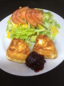 starter fried camembert