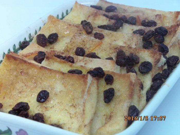 Orange Bread & Butter Pudding