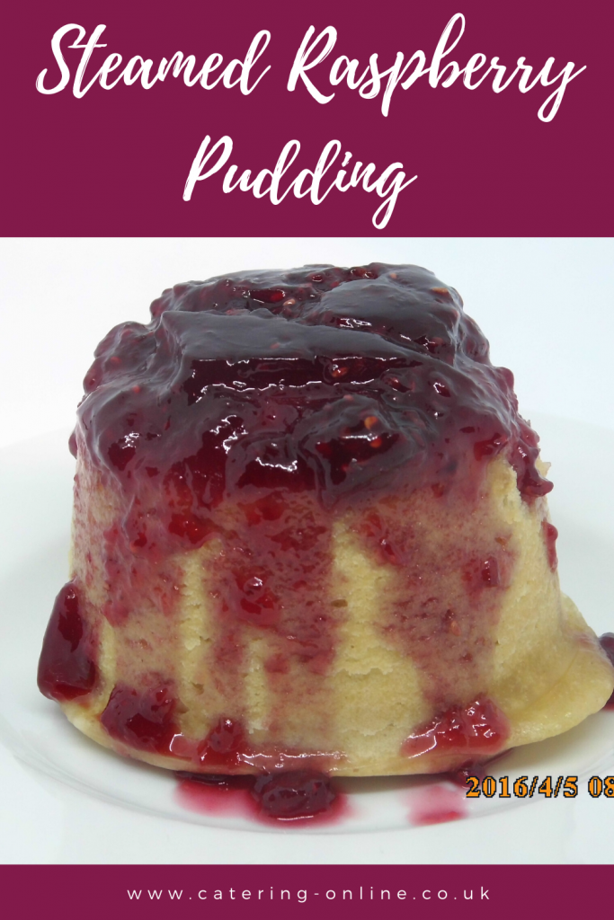 Steamed Raspberry Pudding
