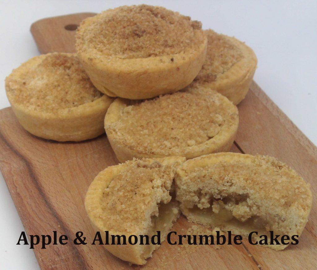 apple & Almond crumble cakes