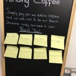 Pending Coffees Board