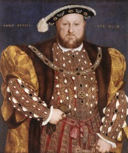 Henry the Eighth obesity was a sign of prosperity
