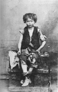 Victorian child being thin was a sign of poverty