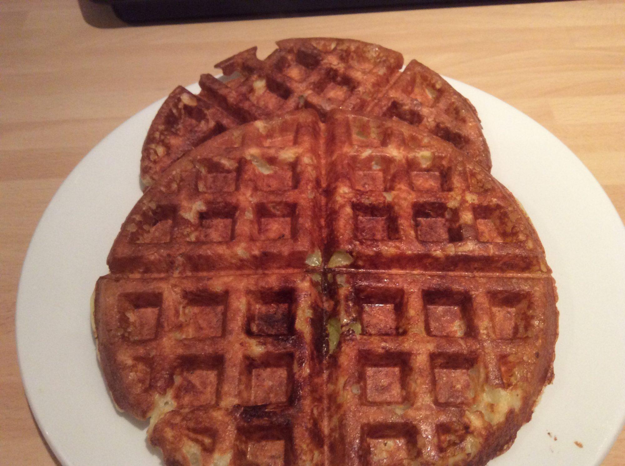 Crispy Potato waffles
