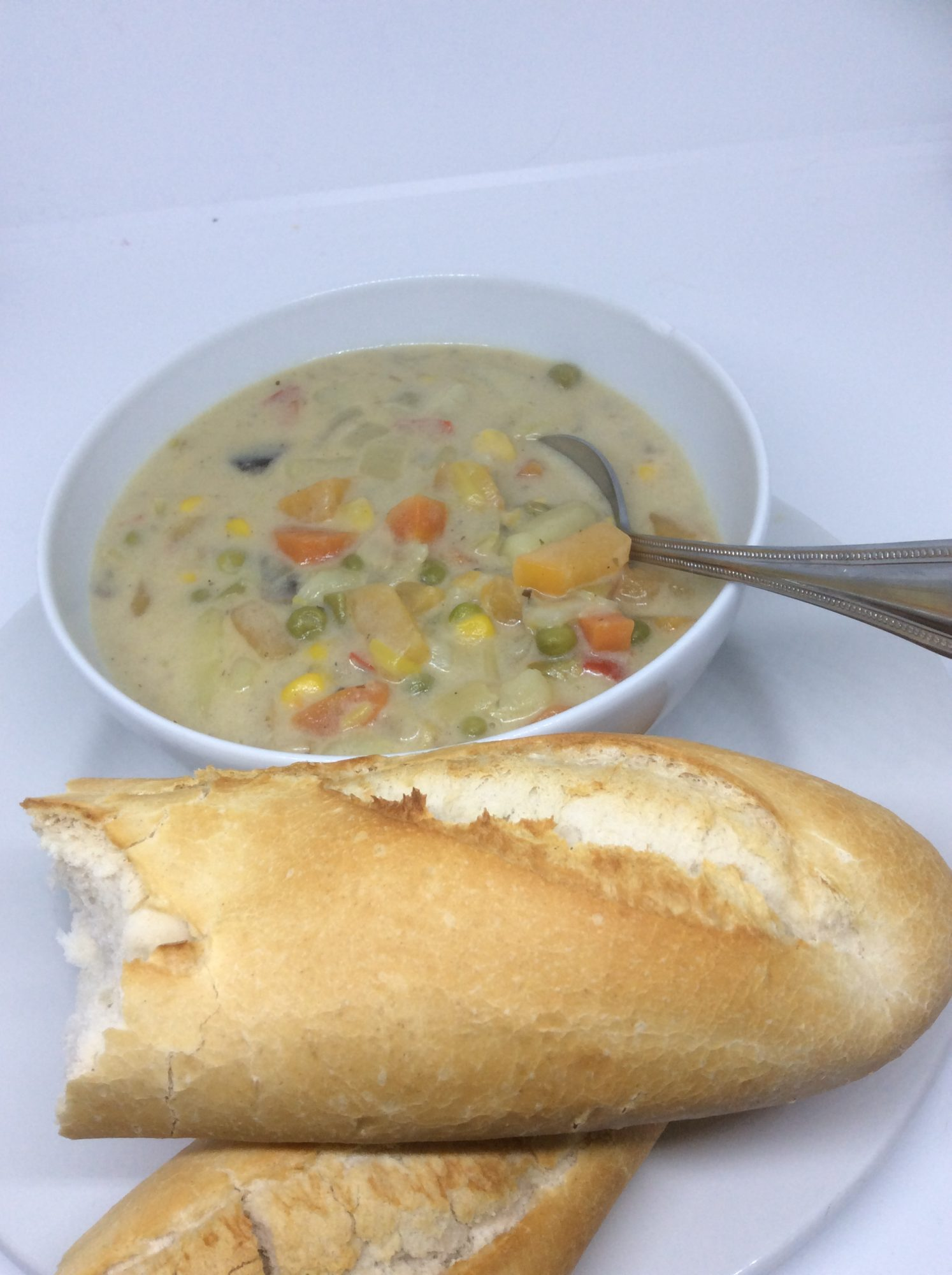 Cream of Vegetable Soup