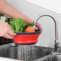 WALFOS Collapsible Colanders - WALFOS Red