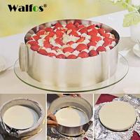WALFOS Stainless Steel Adjustable cake pan