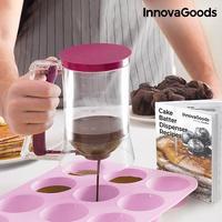 InnovaGoods Cake Batter Dispenser with Recipe Box