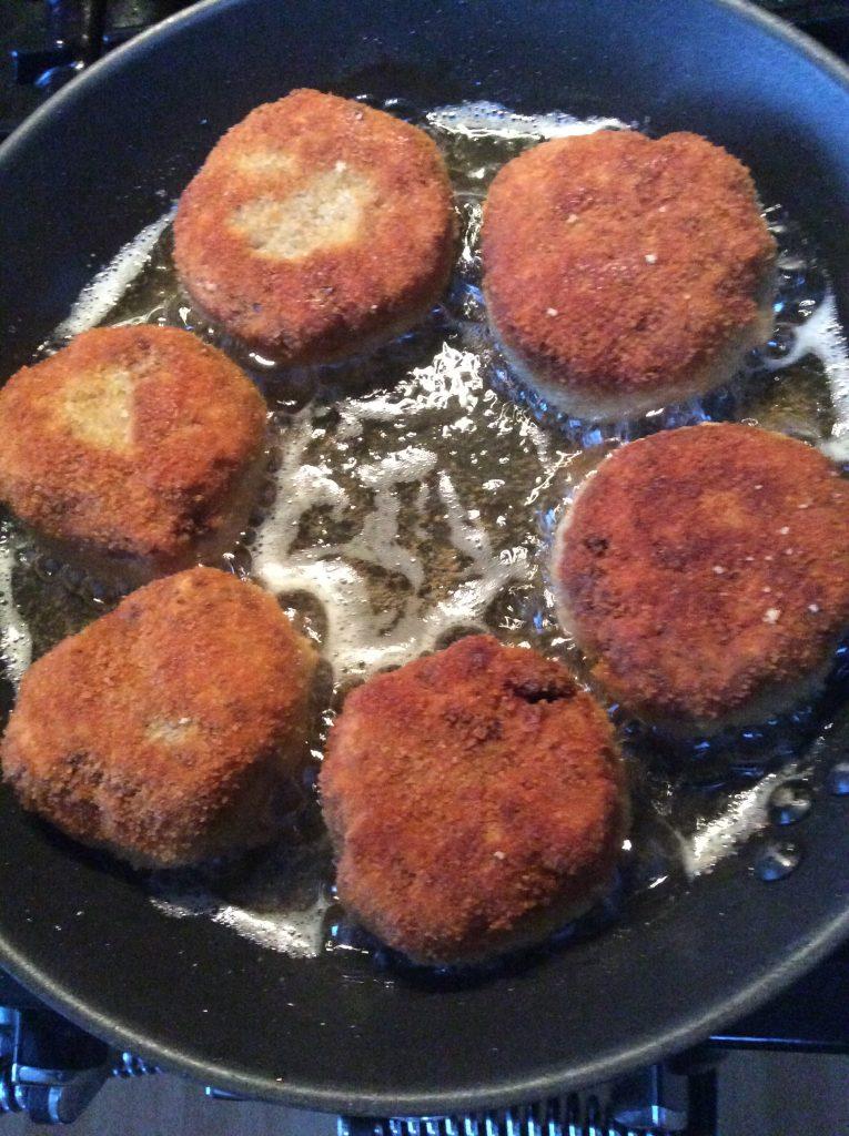 Cooking Rissoles