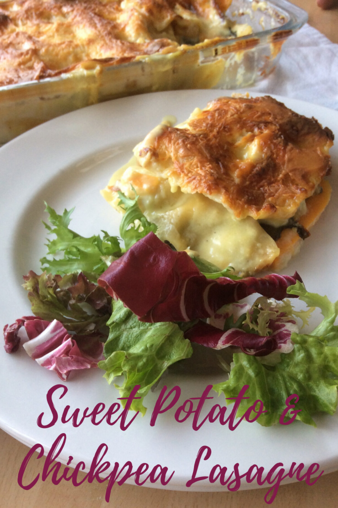 Sweet Potato & Chickpea Lasagne