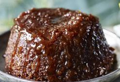 ginger and chocolate pudding