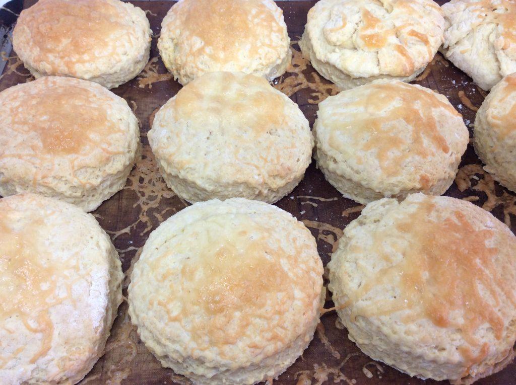 Tray of scones
