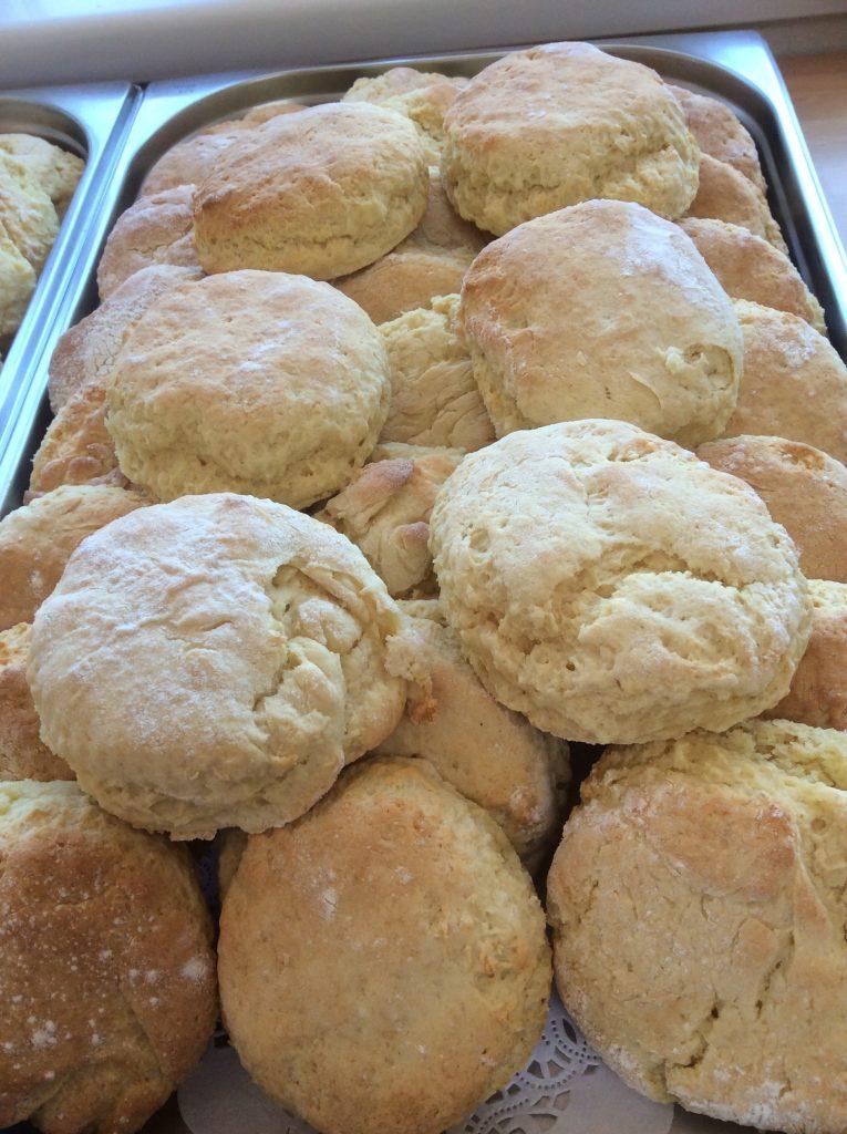 scones tray