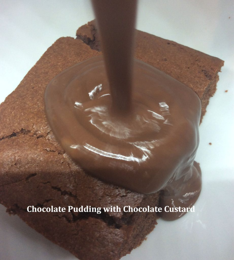 Chocolate Pudding and Chocolate Custard - School Pudding Recipes