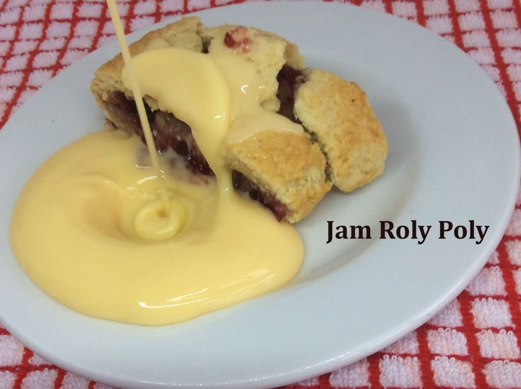 Jam Roly Poly - School Pudding Recipes