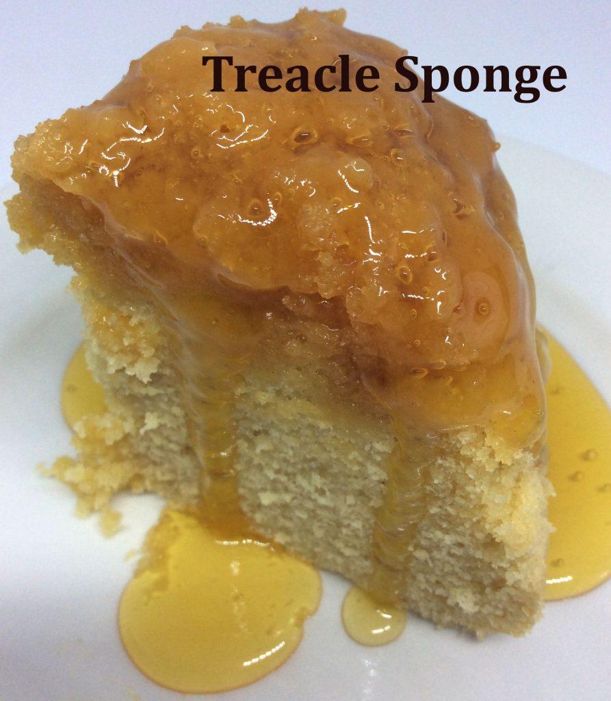 Treacle Sponge - School Pudding Recipes