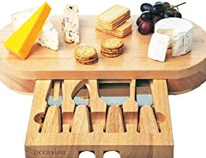 christmas gifts cheeseboard with drawer