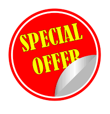 limited special offers