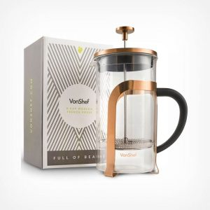8 Cup Copper French Press