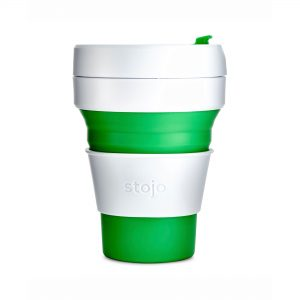 Stojo Green Collapsible Cup