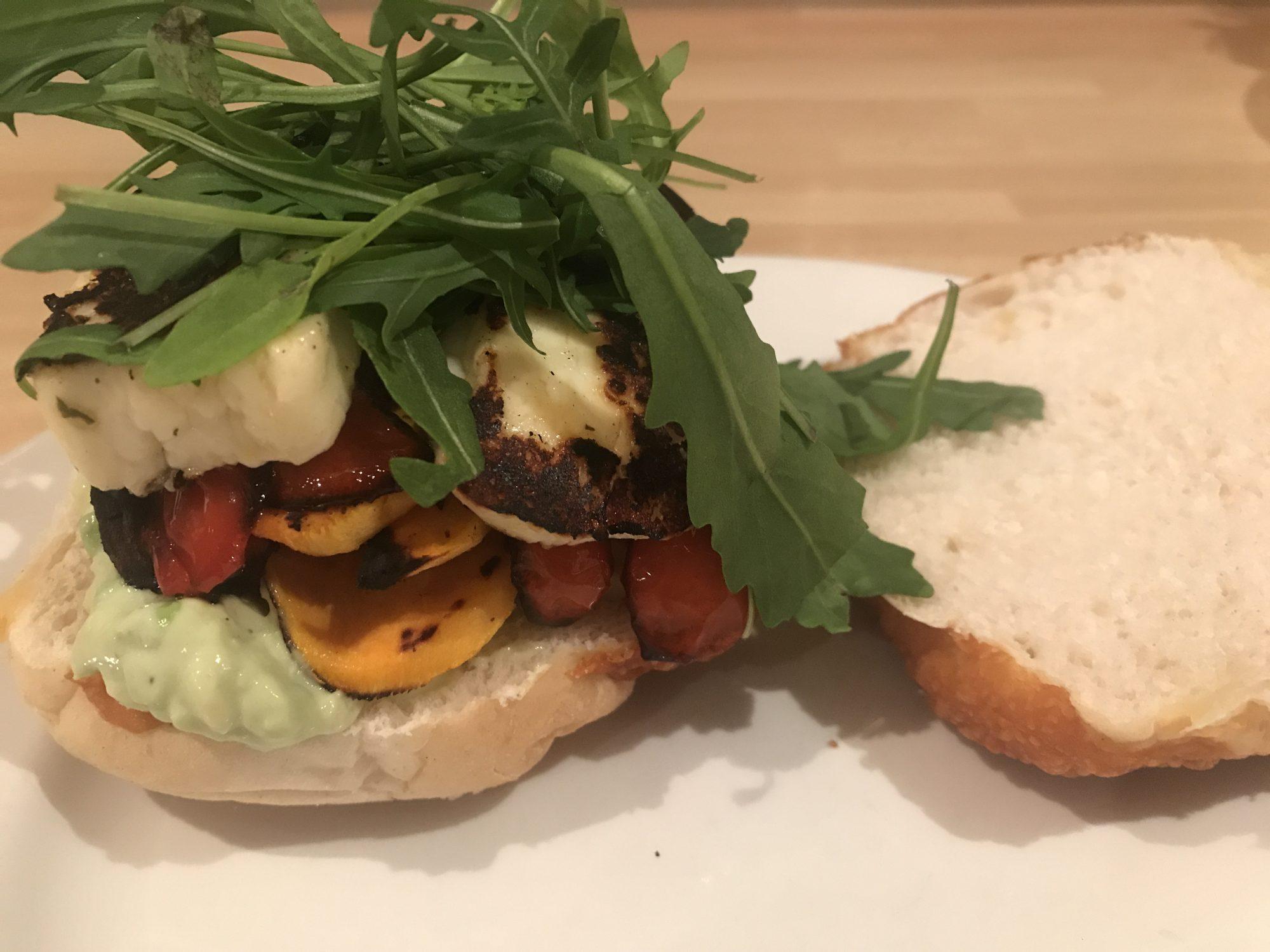 Ultimate Halloumi Burger