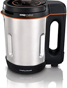 Morphy-Richards-Compact-Soup-Maker-501021-Stainless-Steel-1-Litre-900-W